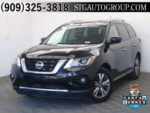 2018 Nissan Pathfinder for sale at STG Auto Group in Montclair CA