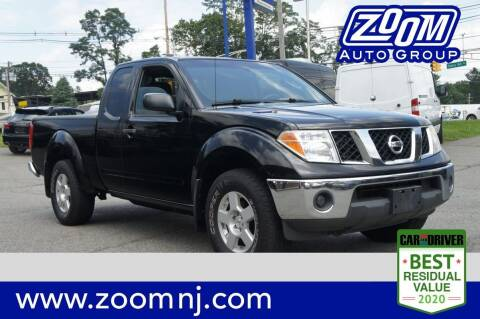 2008 Nissan Frontier for sale at Zoom Auto Group in Parsippany NJ