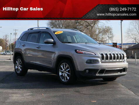 2014 Jeep Cherokee for sale at Hilltop Car Sales in Knox TN