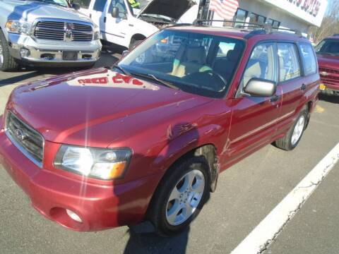 2003 Subaru Forester for sale at Island Auto Buyers in West Babylon NY