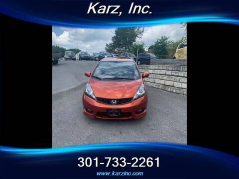 2012 Honda Fit for sale at Karz INC in Funkstown MD