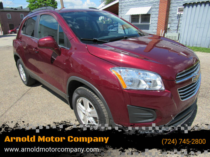 2016 Chevrolet Trax for sale at Arnold Motor Company in Houston PA