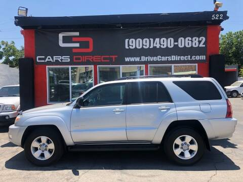 2004 Toyota 4Runner for sale at Cars Direct in Ontario CA