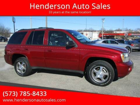 2009 Chevrolet TrailBlazer for sale at Henderson Auto Sales in Poplar Bluff MO