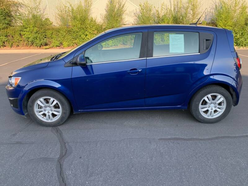 2013 Chevrolet Sonic for sale at BITTON'S AUTO SALES in Ogden UT