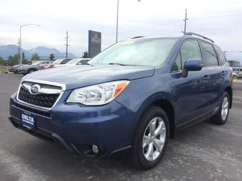 2014 Subaru Forester for sale at Delta Car Connection LLC in Anchorage AK