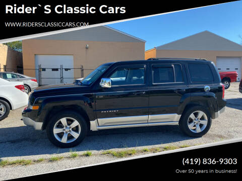 2012 Jeep Patriot for sale at Rider`s Classic Cars in Millbury OH