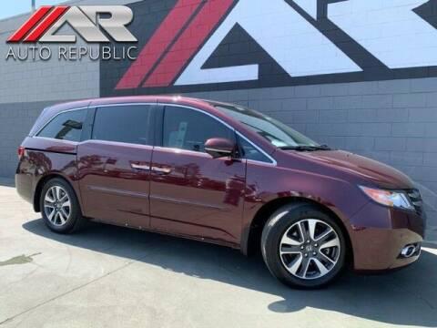 2015 Honda Odyssey for sale at Auto Republic Fullerton in Fullerton CA