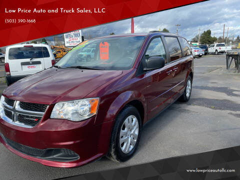 2017 Dodge Grand Caravan for sale at Low Price Auto and Truck Sales, LLC in Brooks OR