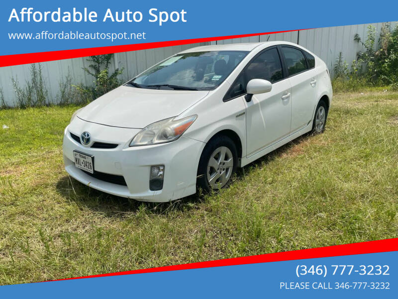 2010 Toyota Prius for sale at Affordable Auto Spot in Houston TX