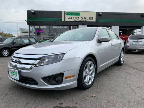 2011 Ford Fusion for sale at Wakefield Auto Sales of Main Street Inc. in Wakefield MA