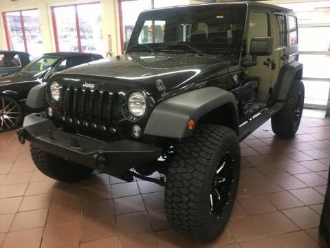 2014 Jeep Wrangler Unlimited for sale at Limitless Garage Inc. in Rockville MD