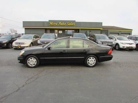 2001 Lexus LS 430 for sale at MIRA AUTO SALES in Cincinnati OH