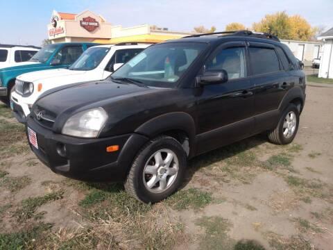 2005 Hyundai Tucson for sale at L & J Motors in Mandan ND