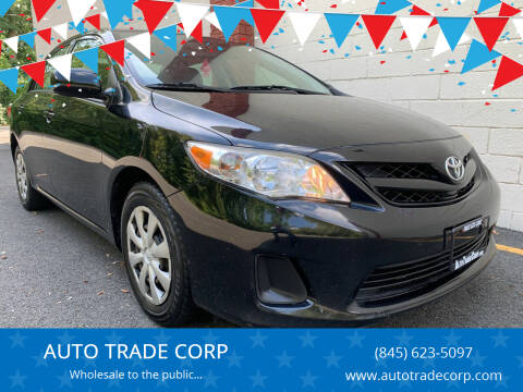 2011 Toyota Corolla for sale at AUTO TRADE CORP in Nanuet NY
