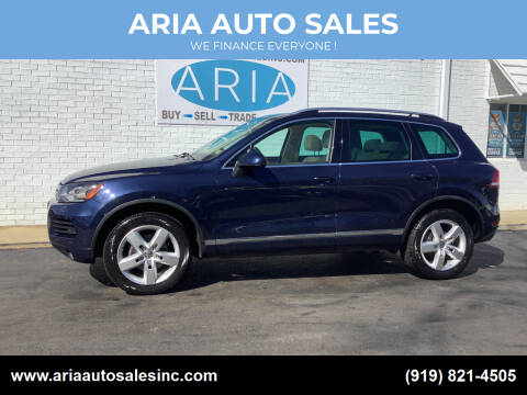 2012 Volkswagen Touareg for sale at ARIA  AUTO  SALES in Raleigh NC