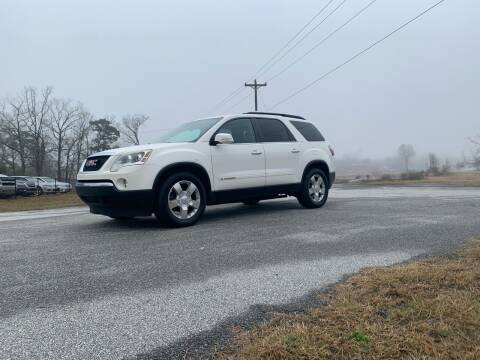 2007 GMC Acadia for sale at Madden Motors LLC in Iva SC