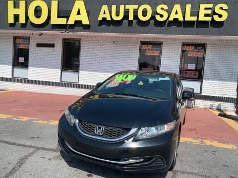 2013 Honda Civic for sale at HOLA AUTO SALES CHAMBLEE- BUY HERE PAY HERE - in Atlanta GA