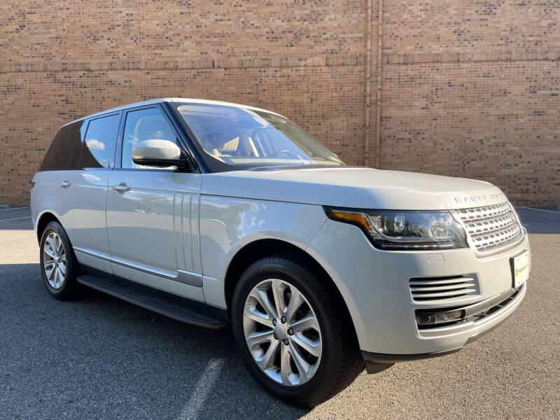 2016 Land Rover Range Rover for sale at Vantage Auto Wholesale in Moonachie NJ