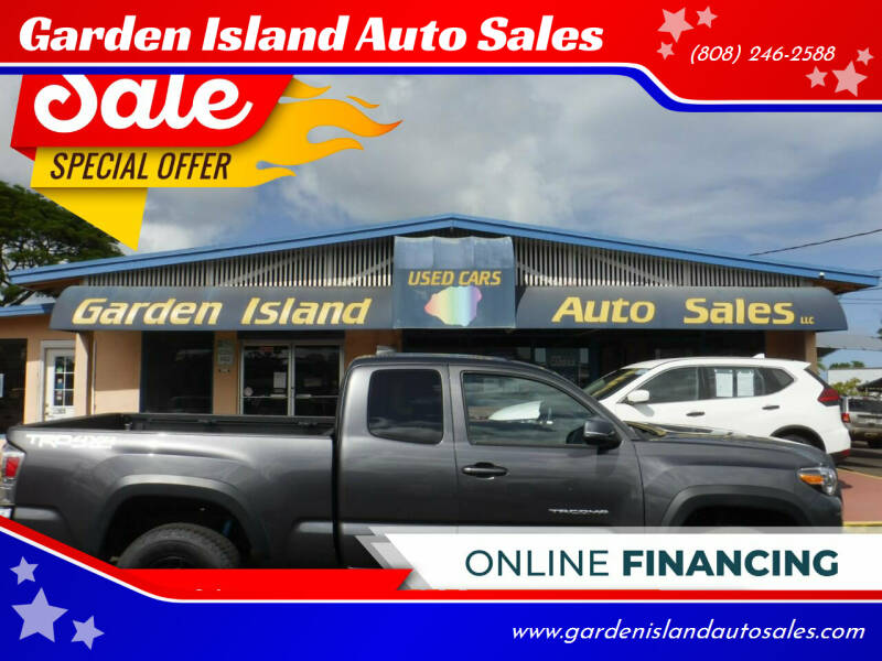 2020 Toyota Tacoma for sale at Garden Island Auto Sales in Lihue HI