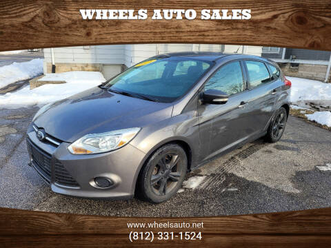 2014 Ford Focus for sale at Wheels Auto Sales in Bloomington IN