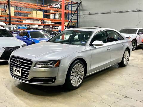 2015 Audi A8 L for sale at EA Motorgroup in Austin TX