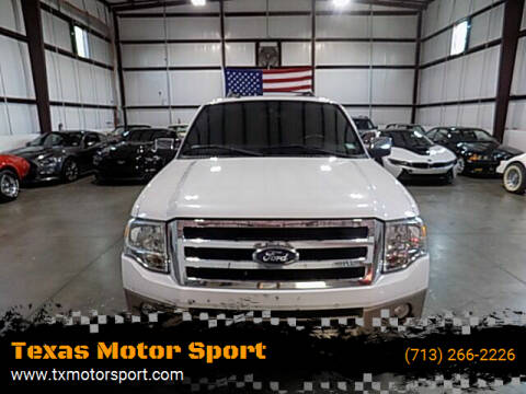 2014 Ford Expedition EL for sale at Texas Motor Sport in Houston TX