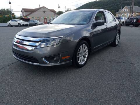 2012 Ford Fusion for sale at Mulligan's Auto Exchange LLC in Paxinos PA