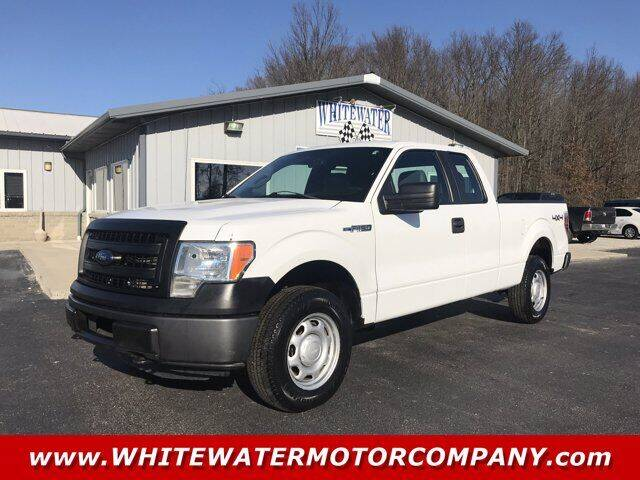 2013 Ford F-150 for sale at WHITEWATER MOTOR CO in Milan IN