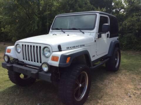 2004 Jeep Wrangler for sale at Allen Motor Co in Dallas TX