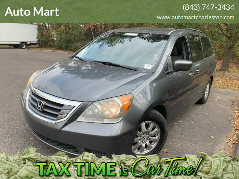 2010 Honda Odyssey for sale at Auto Mart in North Charleston SC