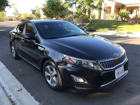 2014 Kia Optima Hybrid for sale at MSR Auto Inc in San Diego CA