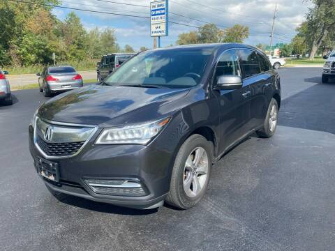 2015 Acura MDX for sale at Erie Shores Car Connection in Ashtabula OH