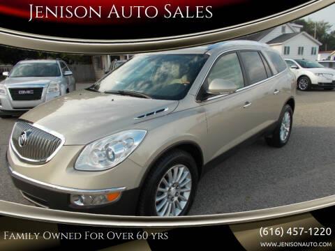 2012 Buick Enclave for sale at Jenison Auto Sales in Jenison MI