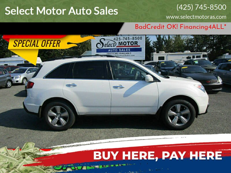2011 Acura MDX for sale at Select Motor Auto Sales in Lynnwood WA
