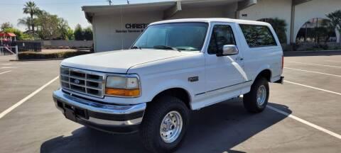 1994 Ford Bronco for sale at Alltech Auto Sales in Covina CA