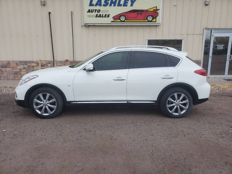 2016 Infiniti QX50 for sale at Lashley Auto Sales in Mitchell NE