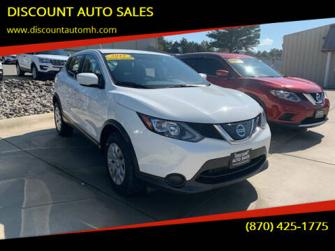 2018 Nissan Rogue Sport for sale at DISCOUNT AUTO SALES in Mountain Home AR