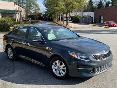 2016 Kia Optima for sale at Triangle Motors Inc in Raleigh NC