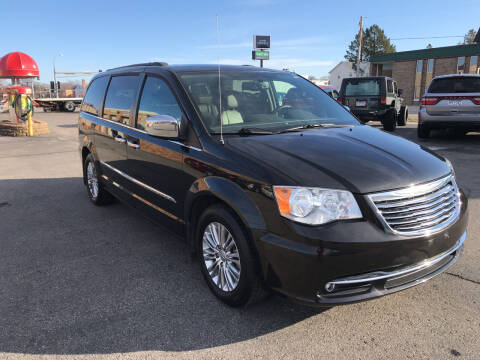2015 Chrysler Town and Country for sale at Carney Auto Sales in Austin MN