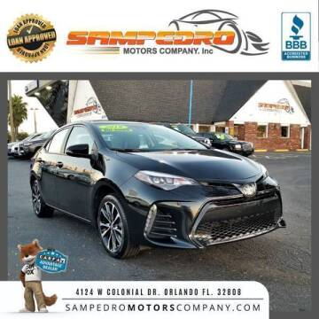 2019 Toyota Corolla for sale at SAMPEDRO MOTORS COMPANY INC in Orlando FL