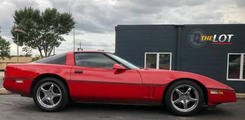 1987 Chevrolet Corvette for sale at THE LOT in Sioux Falls SD