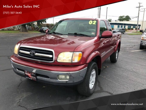 2002 Toyota Tundra for sale at Mike's Auto Sales INC in Chesapeake VA