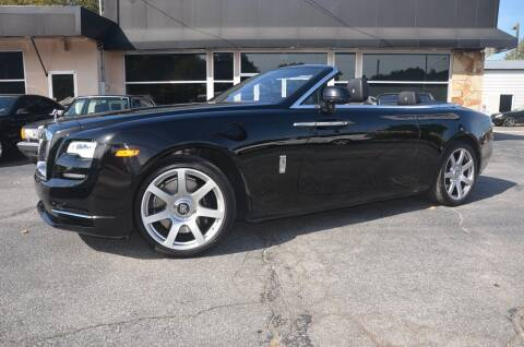 2017 Rolls-Royce Dawn for sale at Amyn Motors Inc. in Tucker GA