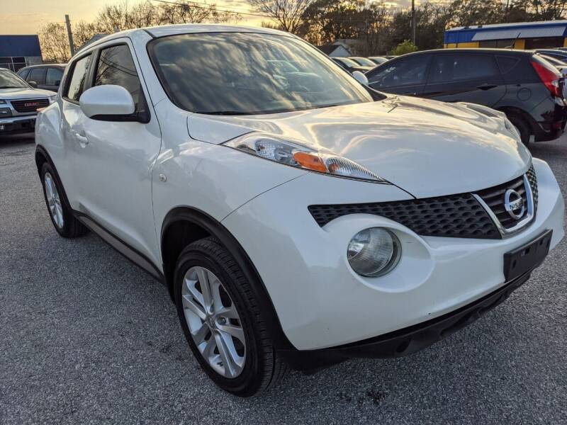 2014 Nissan JUKE for sale at PREMIER MOTORS OF PEARLAND in Pearland TX