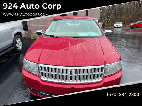 2009 Lincoln MKZ for sale at 924 Auto Corp in Sheppton PA