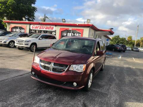 2018 Dodge Grand Caravan for sale at CARSTRADA in Hollywood FL