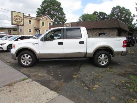 2005 Ford F-150 for sale at Nutmeg Auto Wholesalers Inc in East Hartford CT