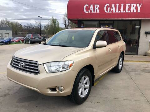 2010 Toyota Highlander for sale at Car Gallery in Oklahoma City OK