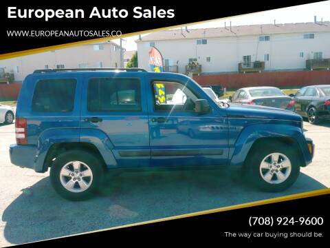 2010 Jeep Liberty for sale at European Auto Sales in Bridgeview IL